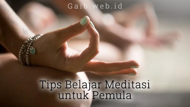 Tips Meditasi bagi Pemula