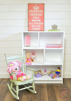 Dollhouse Bookcase Transformation