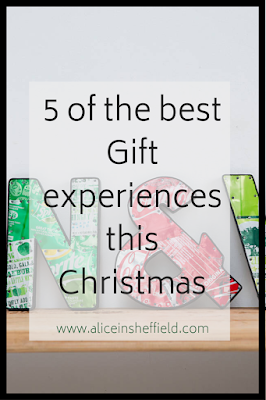 Gift experiences this Christmas