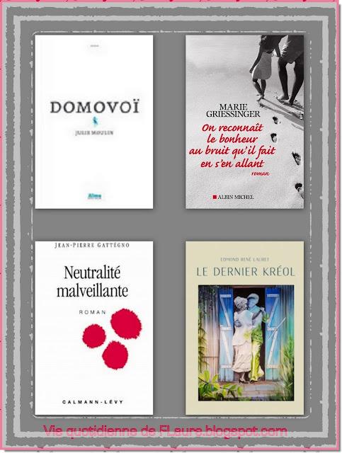 Vie quotidienne de FLaure : Livres présentés pendant les mois d'octobre et novembre  2019