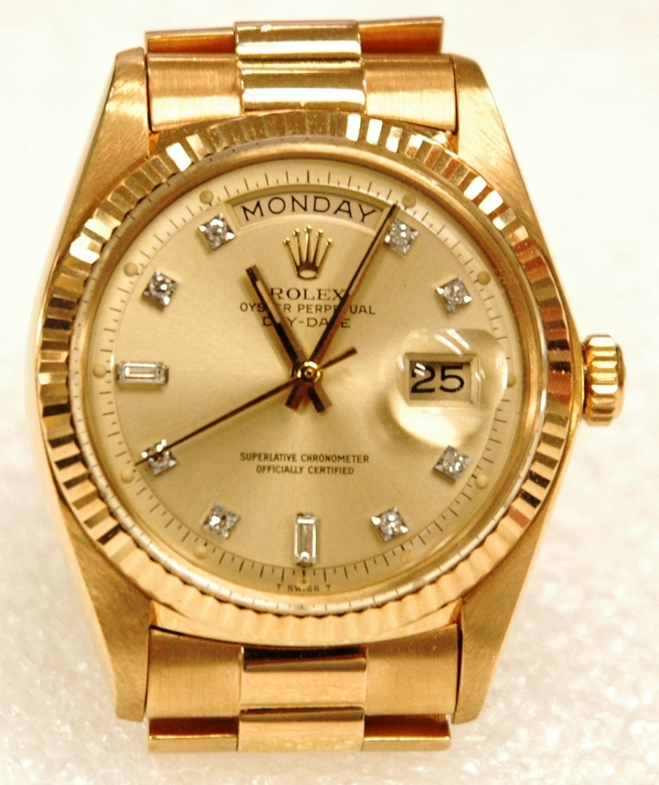 Rolex Watch Gold