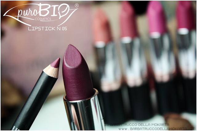 recensione,  lipstick n 05 ,  rossetti purobio , lipstick, vegan makeup, bio makeup