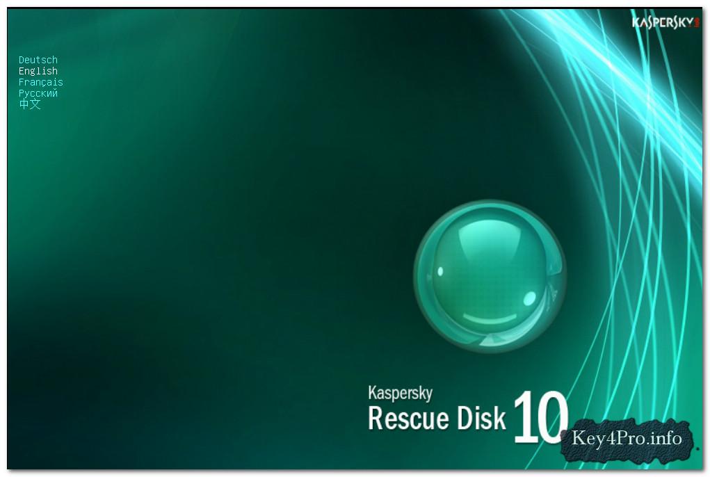 Hướng dẫn sử dụng Kaspersky Rescue Disk