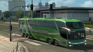 Bus – Marcopolo G7 1600LD Atletico Nacional Skin