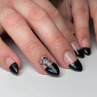 Spider Web Nail Polish Designs