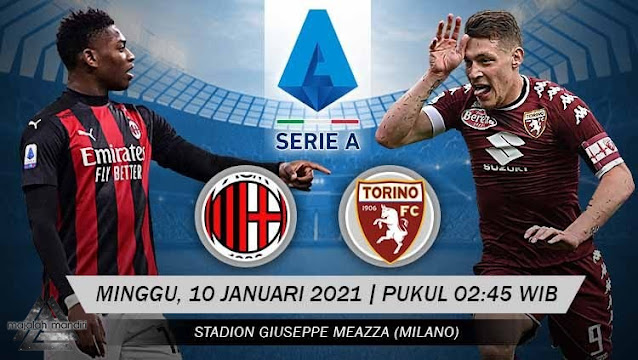 Prediksi AC Milan Vs Torino