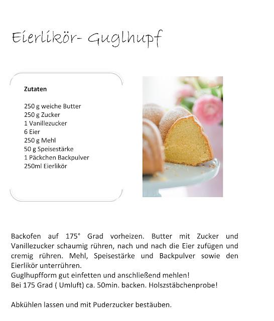 Eierlikör- Guglhupf, Rezept, Pomponetti