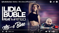 Lidia Buble feat Matteo - Mie-bine