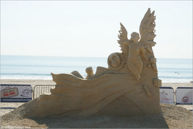 """Guardian Angels"" de Ilya Filimontsev en el Festival de Revere, Massachusetts"
