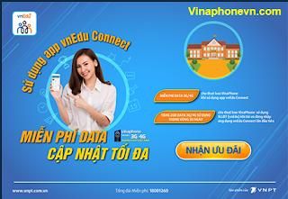 Vinaphone tặng Miễn phí 4G Data