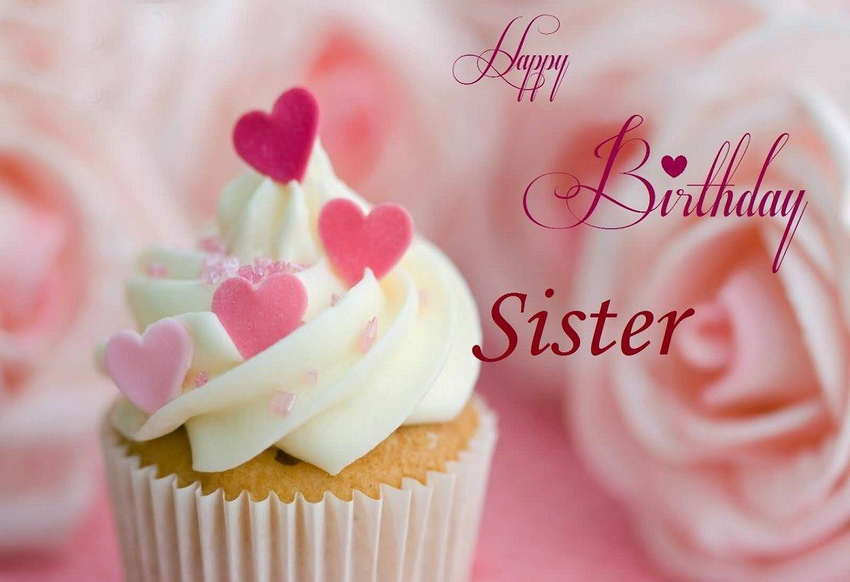 Astounding Happy Birthday Sister Images Quotes Hd Pics Personalised Birthday Cards Veneteletsinfo