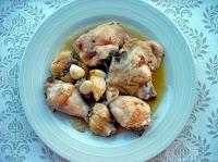 Κοτόπουλο με σκόρδο με τον ισπανικό τρόπο - by https://syntages-faghtwn.blogspot.gr