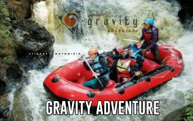 arung jeram bersama gravity adventure bandung