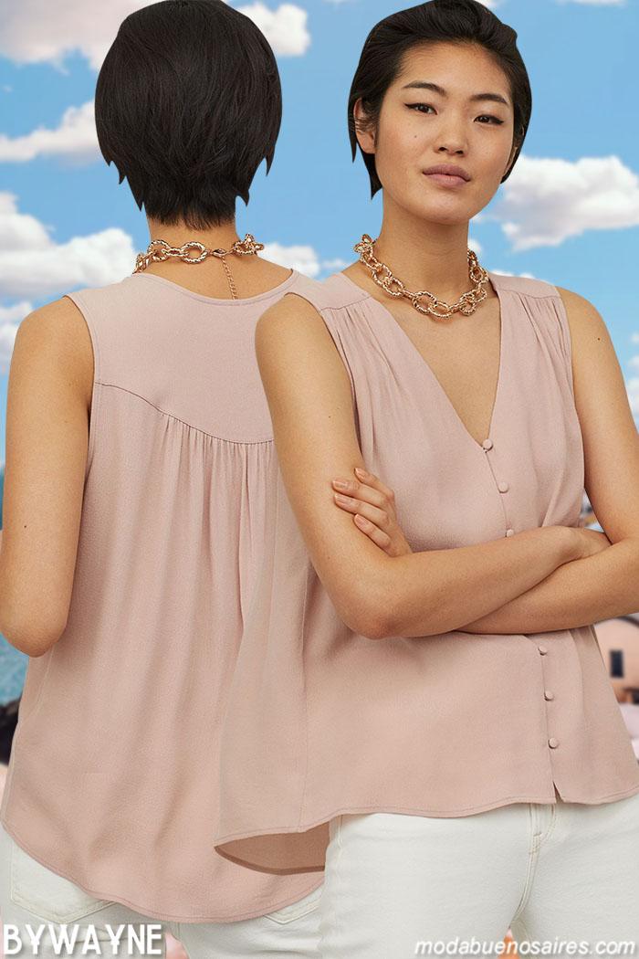 moda ropa de mujer blusas 2021