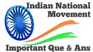Modern History in Hindi