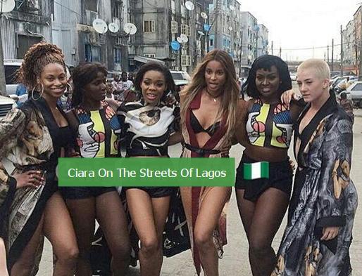 ciara dancing streets lagos nigeria
