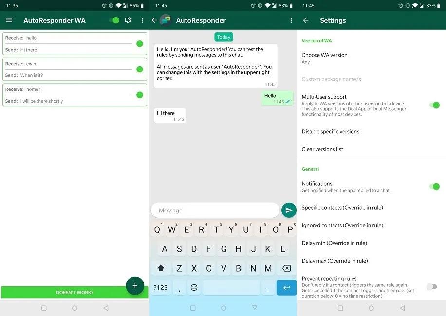 تحسين تجربة الرد الآلي على Whatsapp