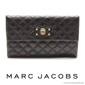 Princess Madeleine style Marc Jacobs quilted clutch