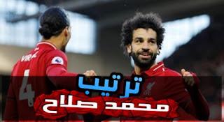 ترتيب هدافي الدوري الإنجليزي.. محمد صلاح يعزز الصدارة بالهدف الـ 17