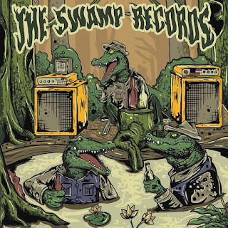 New cover art for The Swamp Records label sampler by SYNDROME