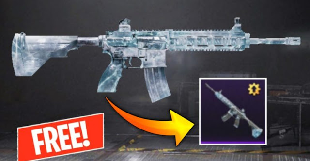 You Want Free M416 Skin In Pubg Mobile?Get It Free