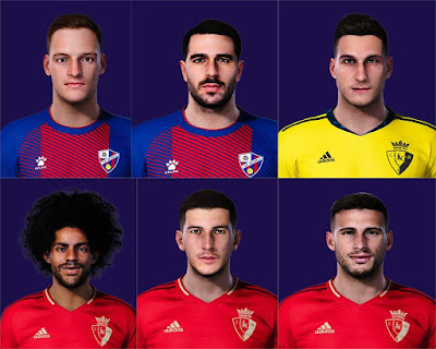 PES 2021 La Liga Facepack 3 by Rednik