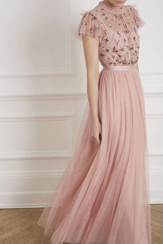 EMBELLISHED DRESSES FASHION TREND