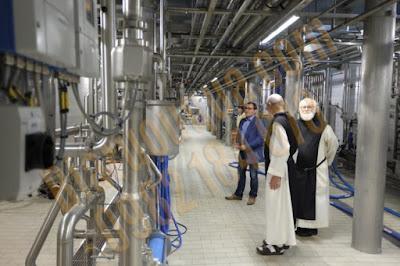 Bên trong nhà máy sản xuất bia Chimay của các tu sĩ