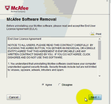 McAfee Consumer Product Removal Tool - TechSpot