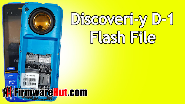 Discoveri-y D-1 Flash File SC6531E Tested (Stock Official Rom)
