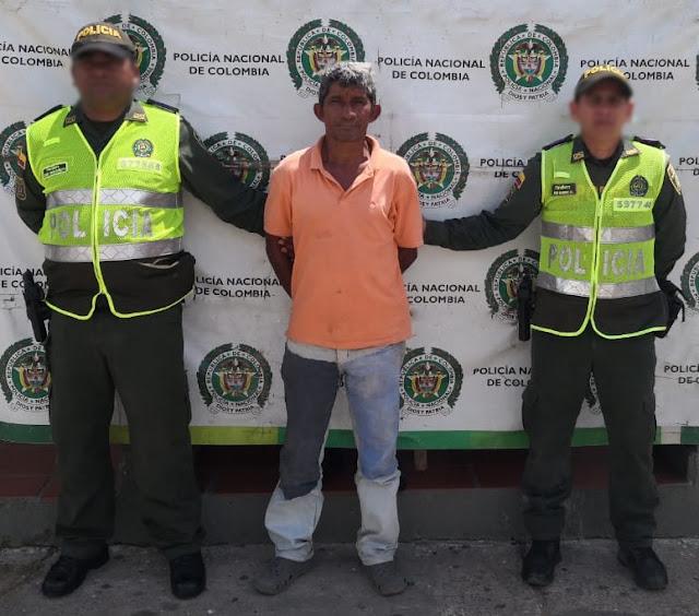 Policía captura hombre por acceso carnal abusivo en Maicao