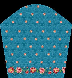 Flower Print Mini Top Skirt Textile Digital Design - Slive 2733