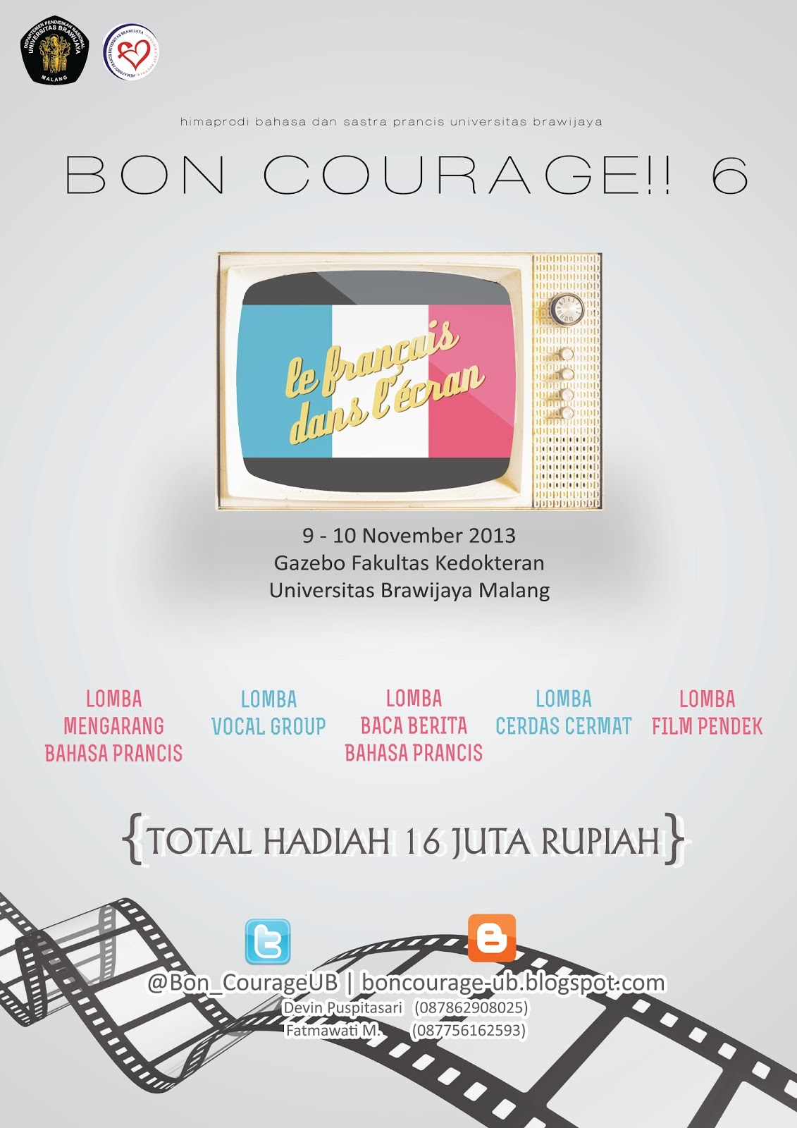 bon courage universitas brawijaya lomba film pendek bon courage 6. Black Bedroom Furniture Sets. Home Design Ideas