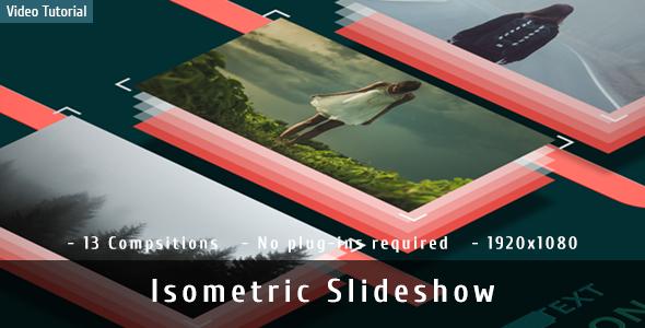 Isometric Logo Glitch By Obispost: VideoHive Isometric Slideshow
