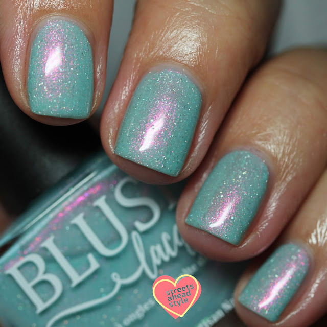 BLUSH Lacquers Tropical Escape swatch by Streets Ahead Style