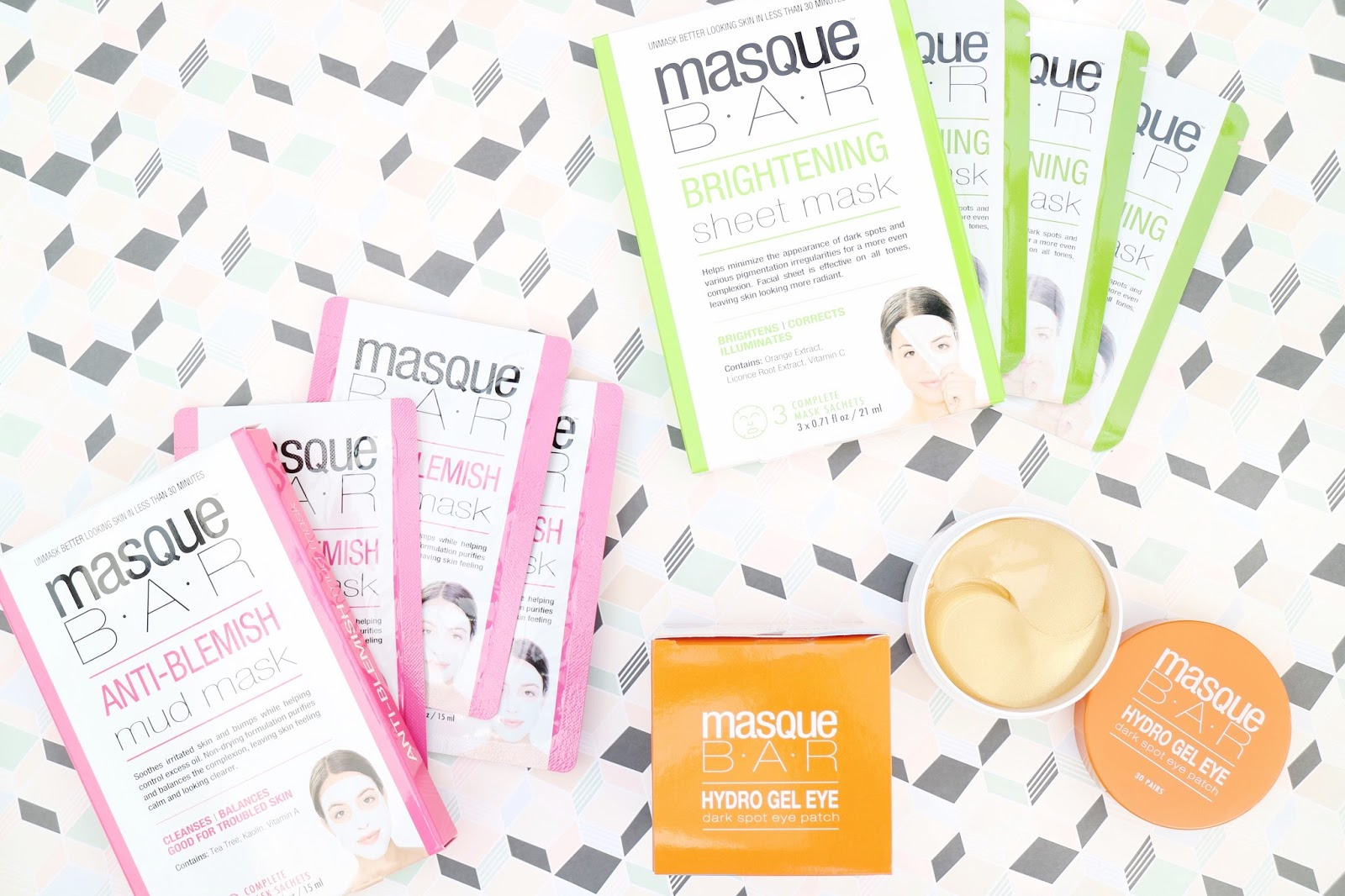 Masque Bar Face Masks Review