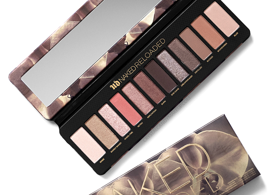 Urban Decay UD Naked Reloaded Eyeshadow Palette Review Swatches