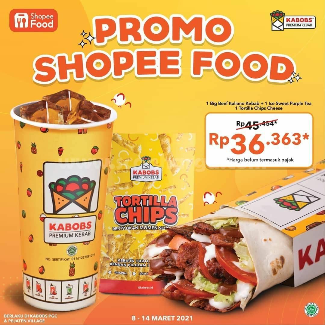 KABOBS Promo Harga Spesial Paket Menu Pilihan via Shopee Food