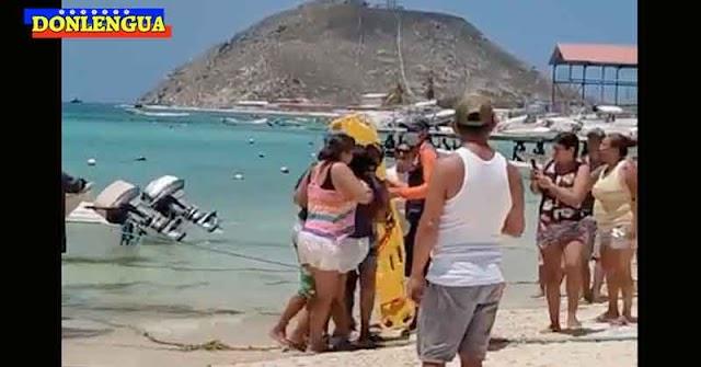 Siete personas fueron rescatadas tras naufragar Los Roques en el barco Don Rafa Junior