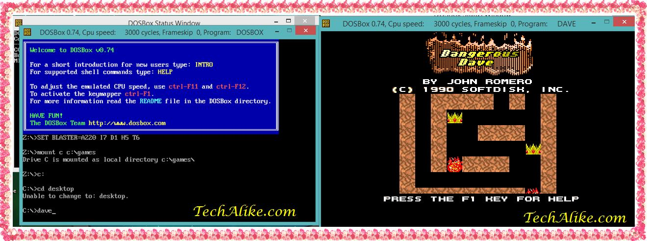 How To Play DOS Games On Windows 7,Windows 8, Windows 10