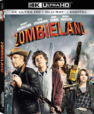 Cover art for Sony's ZOMBIELAND 10TH ANNIVERSARY 4K UHD!