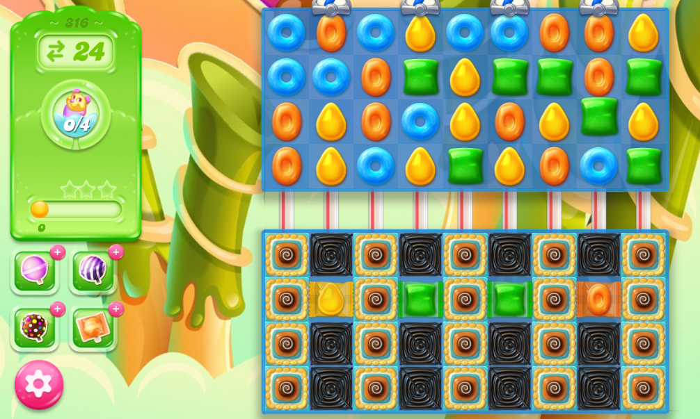 Candy Crush Jelly Saga 316