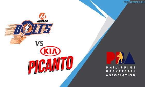 PBA: Meralco Bolts vs. Kia Picanto