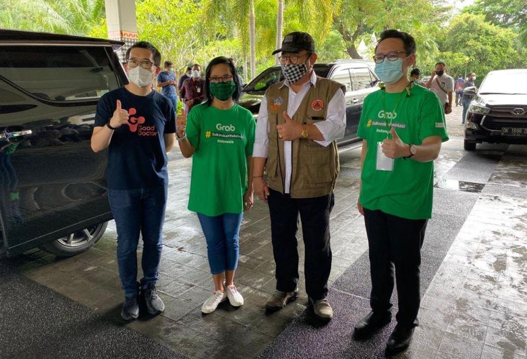 Grab dan Good Doctor Sukses Gelar 5000 Vaksinasi dalam 5 hari
