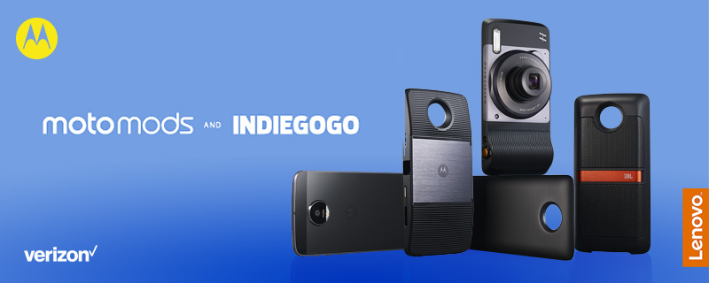Transform the Smartphone Challenge: Moto Mods and Indiegogo
