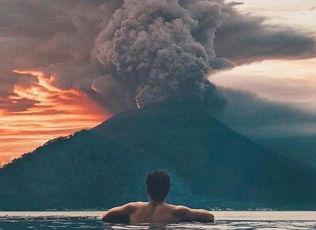 Akibat Erupsi Gunung Agung, Bali dan Lombok Jadi Sepi Turis !!!
