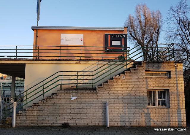 Legia korty tenisowe tenis Myśliwiecka przedwojenny architektura architecture