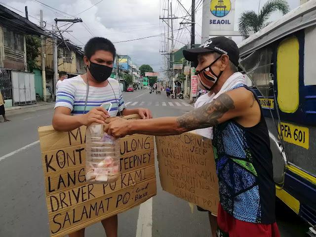Jeepney Driver, Begging