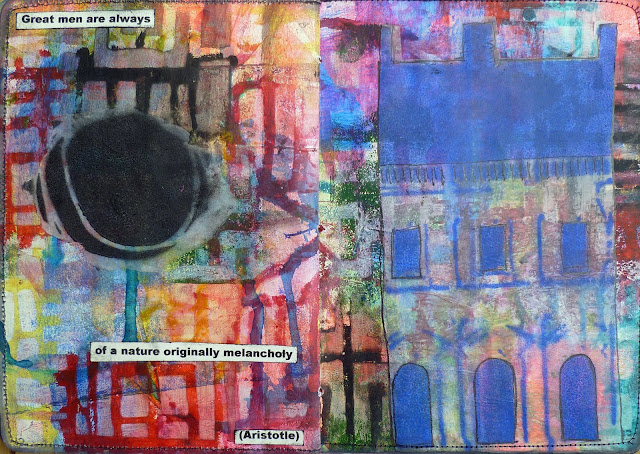 The Sketchbook Project with StencilGirl® Stencils by Frieda Oxenham