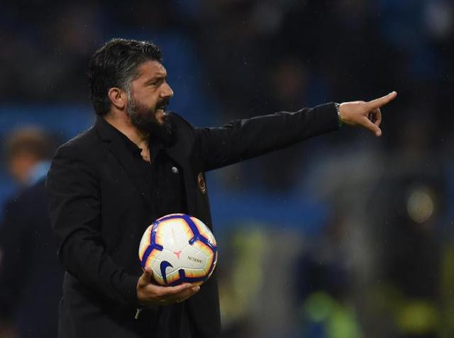 Gennaro Gattuso Sangat Kecewa AC Milan Kalah Satu Poin Gagal ke Liga Champions